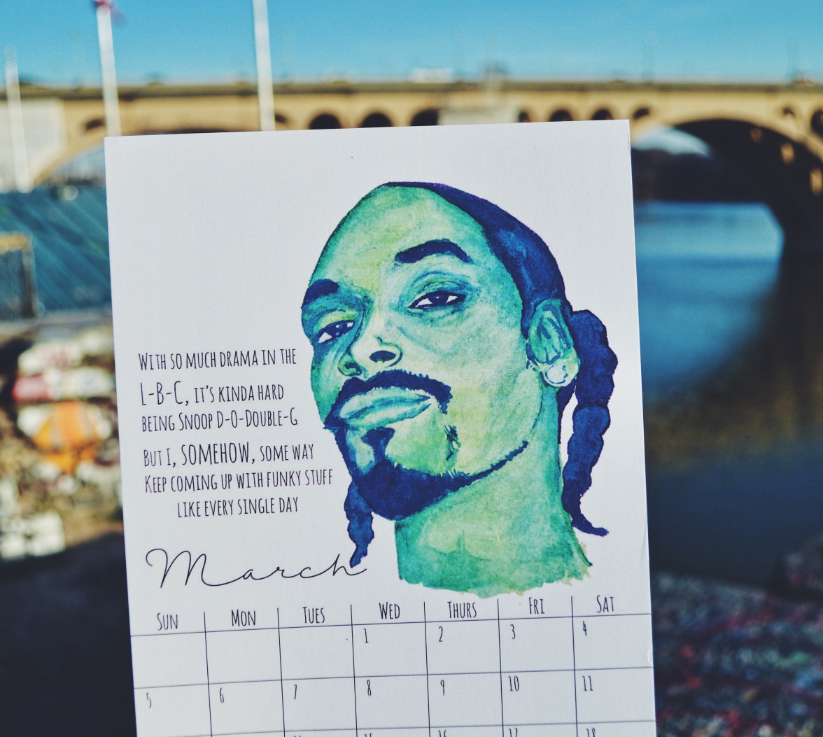 March: Snoop Dogg