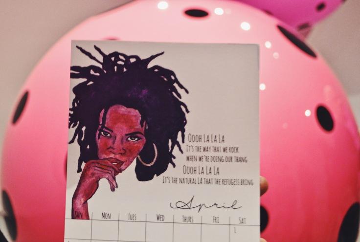 April: Lauryn Hill