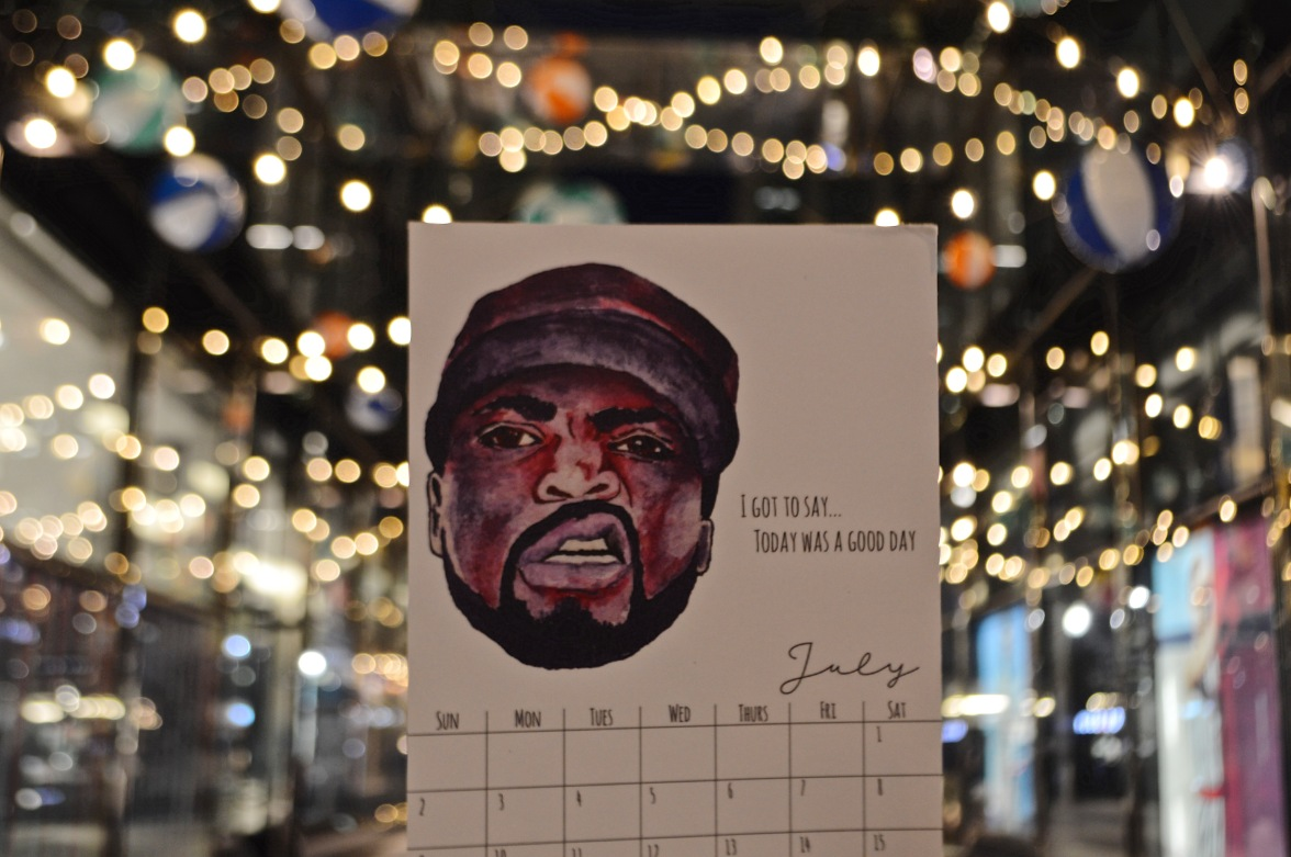 July: Ice Cube