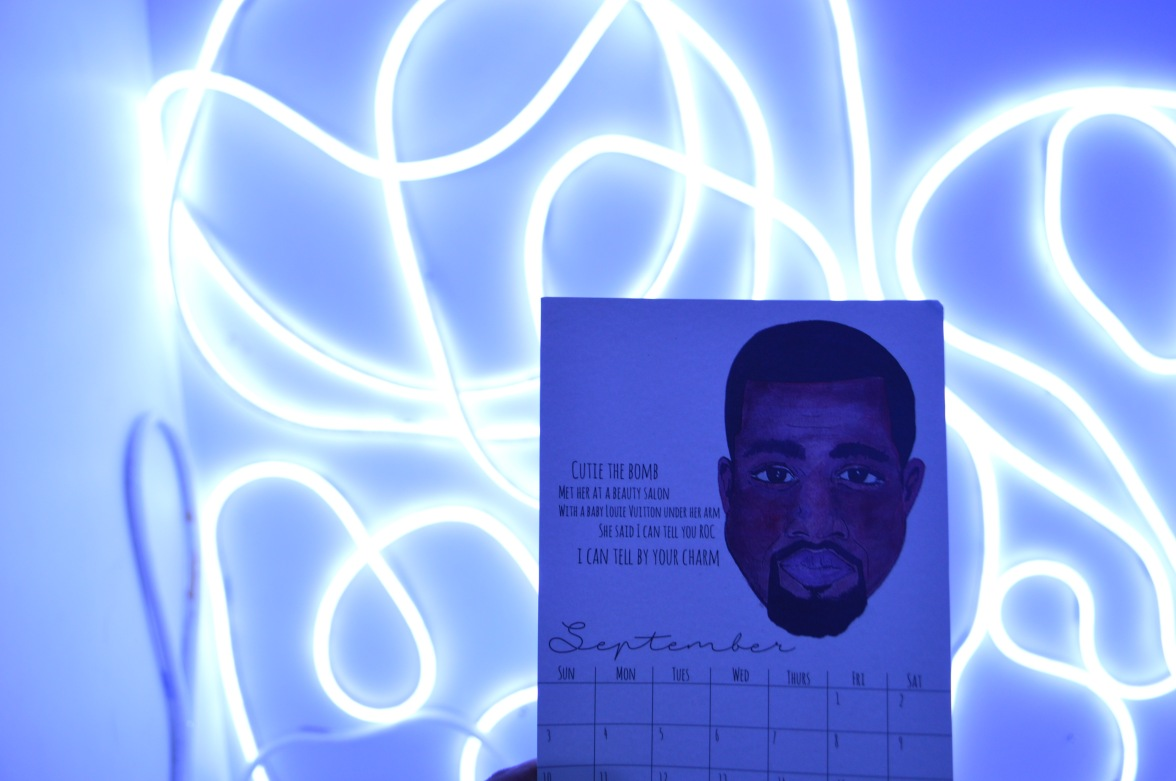 September: Kanye West